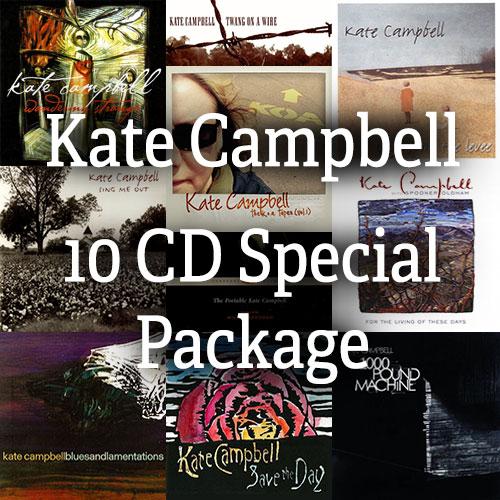 Kate Campbell - 10 CD Special Bundle