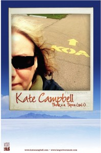 Kate Campbell - K.O.A. Poster