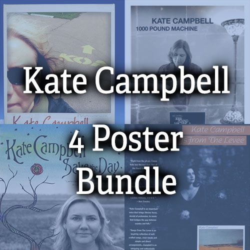 Kate Campbell Poster Bundle