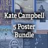 Five Kate Campbell Poster Bundle