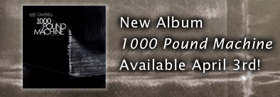New Album, 1000 Pound Machine Available April 3rd